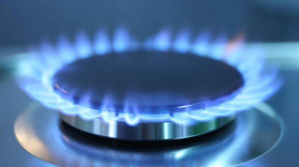Blue Flame From A Gas Burner On A Gas Range, Portland Gas Piping Is Your Gas Piping Specialist